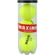 Топки за тенис на корт MAXIMA 3бр. в кутия
