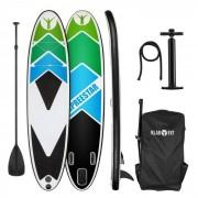 Klarfit Spreestar 325 Set tabla hinchable para surf de remo 325 x 15 x 86 Negra/azul (FITN2-Spreestar325B)