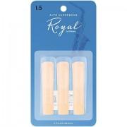 Rico Royal Altsax 1,5 3er Pack Blätter