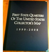 Deluxe first State Quarters of the United States Collectors Map 1999-2008 (Special Collectors Editio