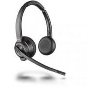 Plantronics Telefonní headset s Bluetooth bez kabelu, stereo Plantronics DECT Headset Savi W8220-M USB binaural ANC na uši černá