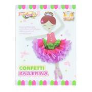 Jucarie Set creativ pentru copii Confetti Ballerina