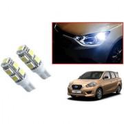 Auto Addict Car T10 9 SMD Headlight LED Bulb for Headlights Parking Light Number Plate Light Indicator Light For Datsun Go+