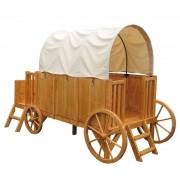 Trasura-Casuta din lemn EGT-Soulet JESSY