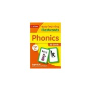 Unbranded Phonics Flashcards (Collins Easy Learning Preschool)