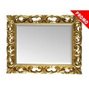 PROMO ! Miroir sculpté feuille or ou argent