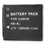 """""""NB-8L Reemplazo de 3.7V """"""""1200mAh"""""""" paquete de la bateria para Canon PowerShot A3100 / A3000 IS"""""""