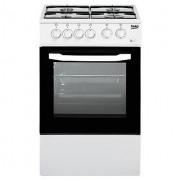 Beko Css42014fw Cucina 50x50 4 Fuochi A Gas Forno Elettrico Classe B 54 Litri Bi