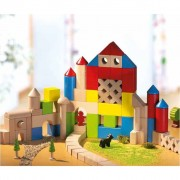 HABA 30 Piece Coloured Building Block Set 001076