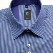 Bărbați cămașă slim fit Willsoor Londra 2082