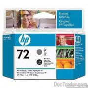 HP 72 Gray and Photo Black Inkjet Print Cartridge (C9380A)