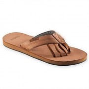 Encion Herrsandal Leather Five Toe Sandal Tåsandal
