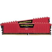 Memorii Corsair Vengeance LPX Red DDR4, 2x4GB, 2400MHz, CL14