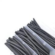 ELECTROPRIME 130Pcs Assortment 2:1 Heat Shrink Tubing Tube Sleeving Wrap 6 Size 2.5-13mm