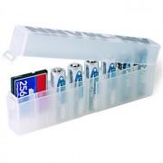 Ansmann Batteribox för 8 st AA-batterier och/eller för minneskort