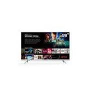 Smart Tv Led Semp Toshiba 49 Polegadas Tcl Com Conversor Digital 2 USB 3 Hdmi 4k 49k1us Bivolt