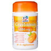 C Vitamin 500mg rágótabletta 60x Vitaday *