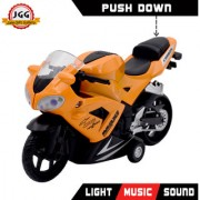 JGG Jain Gift Gallery Maxi 1.12 DIECAST Motorcycle Orange