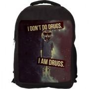 I Am Drugs Designer Laptop Backpacks
