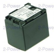 2-Power Videokamera Batteri Canon 7.2v 1400mAh (BP-819)