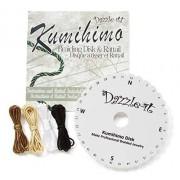 Darice 1999-4685 Kumihimo Braiding Round Disk Kit for Jewelery Making, 15cm