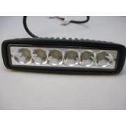 Proiector auto LED 9-32V - 6 LED-uri de mare putere in linie
