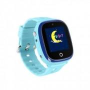 Ceas GPS copii cu GPS Wonlex GW400X WiFi submersibil camera foto telefon buton SOS albastru.