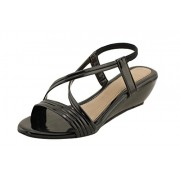 Royal India Exposure Girls Closed Sandal Leather Fashion Sandals for Women Material : Synthetic Color : Black
