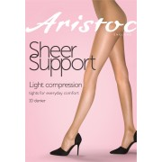 Aristoc Sheer Support - 10 Denier Light compression Tights