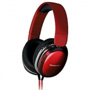 Panasonic RP-HX350ME-R Over The Ear Wired Headphone With Stereo Red
