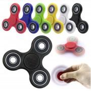Pack 10 Fidget Spinner Finger Antiestres Metalico 3 Puntas