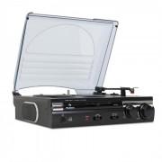 Auna 182TT Tocadiscos grabación de LP a USB MP3 AUX PC Mac (MG-182TT)