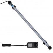 vidaXL Lampă cu LED pentru acvariu, albastru, 48 cm
