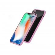 Funda para Iphone 6 Jyx Accesorios Magnética Bumper Aluminio - Rosa