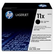 HP Black Laserjet 2400 Series Cartridge LaserJet Print Cartridge. Average Cartridge Yield 12,000 pages. Declared yield value in accordance with ISO/IEC 19752.