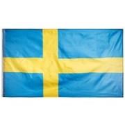 Zweden Vlag 90x155cm - Geel/Blauw