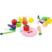 Small Foot Mágneses gyümölcsök és zöldségek szett