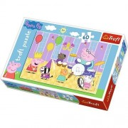 Puzzle Trefl Peppa Pig at The Ball, 60 piese
