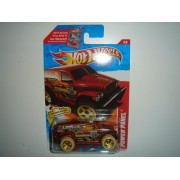 2011 Hot Wheels Thrill Racers - Desert Power Panel Copper on 2 Car Bands Included Card #186/244