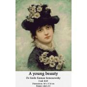 Kit goblen - A young beauty de Emile Eisman Semenowsky