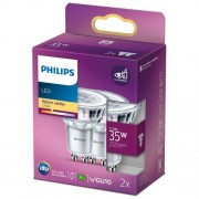 Philips 2-pack LED GU10 Spot 35W 255lm