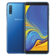 "Samsung Smartphone Samsung Galaxy A7 Sm A750f (2018) Dual Sim 64 Gb Octa Core 6"" Super Amoled 4g Lte Wifi Bluetooth Tripla Fotocamera Refurbished Blu"