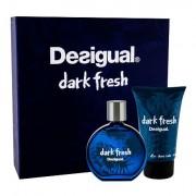 Desigual Dark Fresh confezione regalo eau de toilette 100 ml + balsamo dopobarba 100 ml Uomo