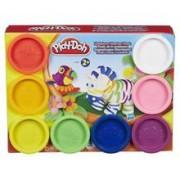 Set Play-Doh Rainbow Pack Compound 8pcs