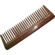 BLITHE NEEM WOOD COMB WIDE TOOTH DETANGLER(7.5 INCH)