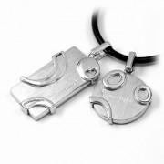 Silvego Stříbrné přívěsky pro partnery DZP491 - DZP491