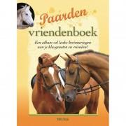 Speelgoed boek paardjes vriendenboekje/poesiealbum