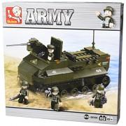 "Sluban Amphibian Tank 223 Pieces Building Blocks ""Lego"" Compatible M38-B6300"