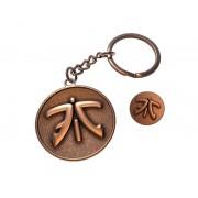 Fnatic Keyring Badge Bundle, Antique Copper Finish