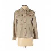 J.Crew Jacket: Tan Jackets & Outerwear - Size 2X-Small